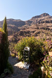 Gran Canaria Mountains Stock Photography