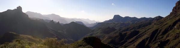Gran Canaria. Mountains of Gran Canaria, close to Artenara royalty free stock image
