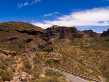 Gran Canaria Mountains Stock Images