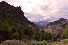 Gran Canaria Mountains Royalty Free Stock Images