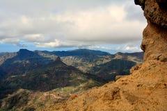 Gran Canaria Mountains Royalty Free Stock Photos