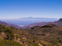 Gran Canaria Mountains Stock Photo