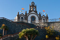 Gran Canaria old town. Church in  old town in Gran Canaria Stock Images