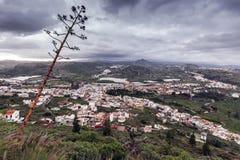 Gran Canaria panorama at sunrise Stock Photography