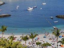 Gran Canaria port Arkivbild