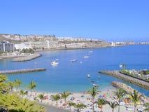 Gran Canaria port Royaltyfria Foton