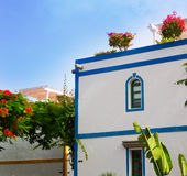 Gran canaria Puerto de Mogan white houses Royalty Free Stock Photography
