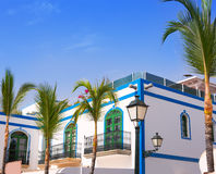 Gran canaria Puerto de Mogan white houses Stock Photo