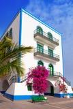 Gran canaria Puerto de Mogan white houses Royalty Free Stock Image