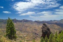Gran Canaria, route Cruz de Tejeda - Artenara Royalty Free Stock Photos
