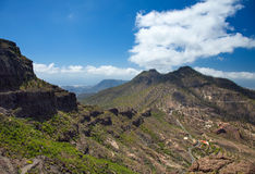 Gran Canaria, route Cruz Grande - Llanos de la Pez Royalty Free Stock Photography