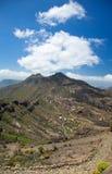 Gran Canaria, route Cruz Grande - Llanos de la Pez Stock Image