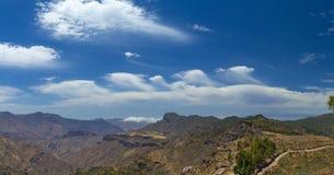 Gran Canaria, rutt Cruz de Tejeda - Artenara Arkivfoton