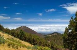 Gran Canaria, rutt Cruz de Tejeda - Artenara Royaltyfria Bilder