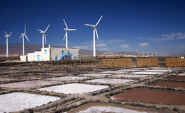 Gran Canaria, Salinas De Tenefe Obraz Stock