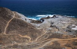 Gran Canaria, Salinas del Bufadero Fotografia de Stock