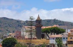 Gran Canaria, Santa Brigida. Church Stock Photos