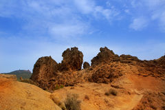 Gran canaria Tejeda Roques view from Nublo Stock Photography