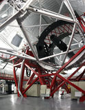 Gran Canaria Telescope (GTC). The largest optical telescope in the world, with a mirror of 10.4 m, found in the Canary Islands, La Palma Royalty Free Stock Photo