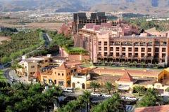 Gran Canaria, Toeristentoevlucht Meloneras Maspalomas royalty-vrije stock afbeelding