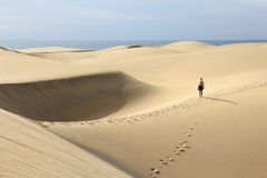 Gran Canaria tourist Royalty Free Stock Photography