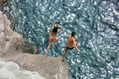 Gran Canaria - Umgebungen von Puerto Rico Stockfotografie
