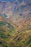 Gran Canaria valley Stock Photo