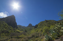 Gran Canaria, Valsequillo municipality Stock Photo