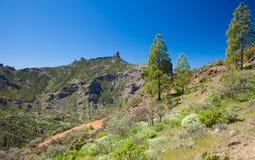 Gran Canaria, view across Caldera de Tejeda Royalty Free Stock Image