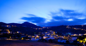 Gran Canaria, village of Marzagan, evening light Royalty Free Stock Images