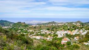 Gran Canaria, vista al Las Palmas Foto de archivo
