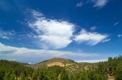 Gran Canaria, Weg Cruz de Tejeda - Artenara Lizenzfreies Stockfoto