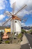 Gran Canaria windmill. Molino de Viento in Mogan royalty free stock photography