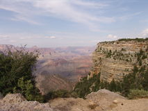 Gran canyon. View from grand canyon , mountains royalty free stock image