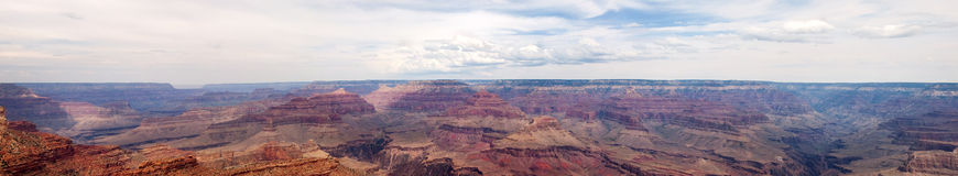 Gran Canyon big panorama Royalty Free Stock Images