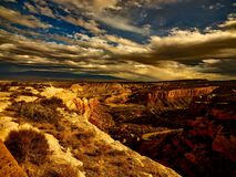 Gran canyon Cape Royal Trail Royalty Free Stock Images