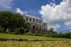 Gran casa Foto de archivo