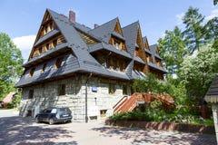 Gran, casa de vacaciones en Zakopane Foto de archivo libre de regalías