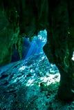 Gran cenote Eingang Stockbilder