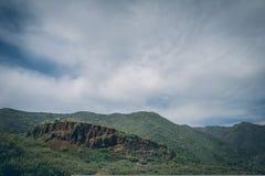 Gran central Canaria, vista da parte superior da montanha Imagens de Stock Royalty Free