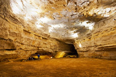 Gran cueva KY del salitre Fotografía de archivo