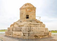 Gran Cyrus tumba de Pasargad Fotografía de archivo