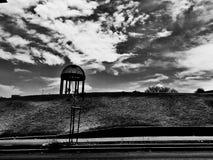Gran día blanco y negro Stock Image
