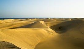 gran de désert de canaria Image stock