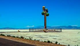 Gran desierto del lavabo Foto de archivo