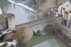 Architettura del Lussemburgo Immagini Stock Libere da Diritti