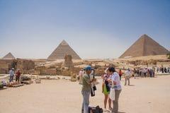 Gran esfinge de Giza Fotografía de archivo