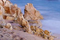 Gran esquina del brava de la costa Imagen de archivo libre de regalías