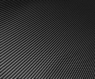 Gran fondo negro de la fibra del carbón Fotos de archivo libres de regalías
