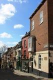 Gran ganador 2012 de la calle de Gran Bretaña escarpada de la colina Imagen de archivo libre de regalías